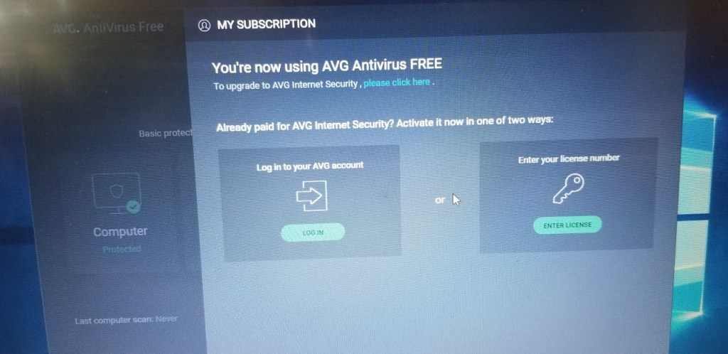 AVG Internet Security 2018 full download license key