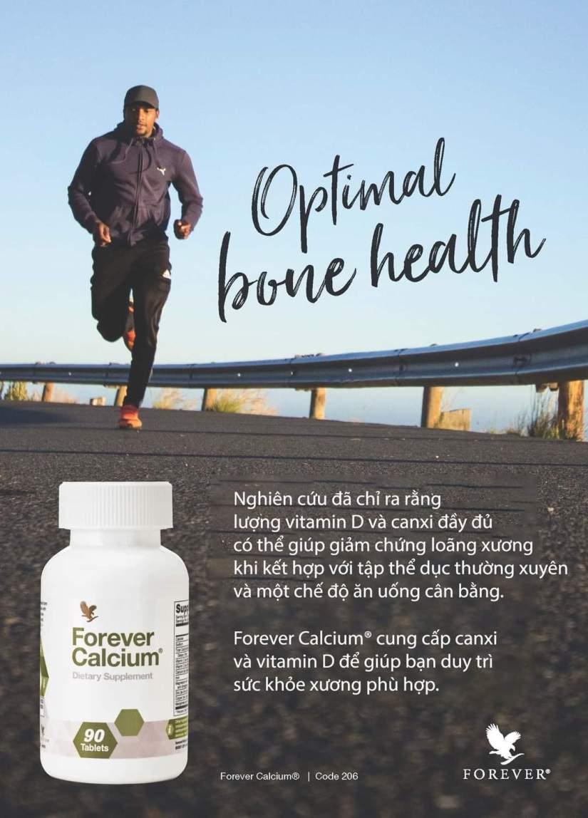 Thành phần đặc biệt trong Forever Calcium 206 Flp