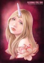 Unicorn Princess - Digital Painting