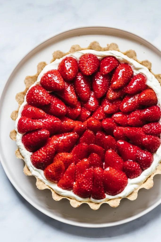 Strawberry cake, tart