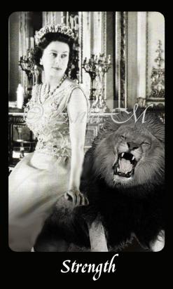 Queen strength card