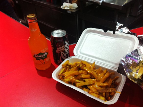 I Went to Philly fries