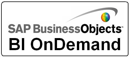 SAP BusinessObjects BI OnDemand, una tímida presentación