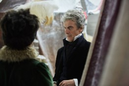 Doctor Who S10 - TX: 29/04/2017 - Episode: Thin Ice (No. 3) - Picture Shows: Bill (PEARL MACKIE), The Doctor (PETER CAPALDI) - (C) BBC - Photographer: Simon Ridgway