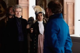 Doctor Who S10 - TX: 29/04/2017 - Episode: Thin Ice (No. 3) - Picture Shows: The Doctor (PETER CAPALDI), Bill (PEARL MACKIE), Lord Sutcliffe (NICHOLAS BURNS) - (C) BBC - Photographer: Simon Ridgway