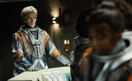 Doctor Who S10 - TX: 13/05/2017 - Episode: Oxygen (No. 5) - Picture Shows: The Doctor (PETER CAPALDI), Abby (MIMI NDIWENI) - (C) BBC/BBC Worldwide - Photographer: Simon Ridgway