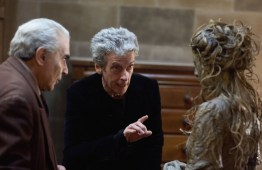 Doctor Who S10 - TX: 06/05/2017 - Episode: Knock Knock (No. 4) - Picture Shows: The Landlord (DAVID SUCHET), The Doctor (PETER CAPALDI), episode 4 monster - (C) BBC/BBC Worldwide - Photographer: Simon Ridgway