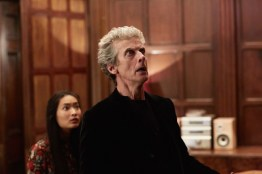 Doctor Who S10 - TX: 06/05/2017 - Episode: Knock Knock (No. 4) - Picture Shows: Felicity (ALICE HEWKIN), The Doctor (PETER CAPALDI) - (C) BBC/BBC Worldwide - Photographer: Simon Ridgway