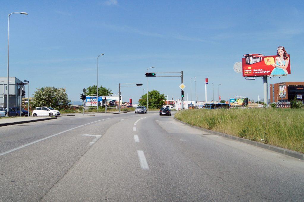 ZAGREB, AVENIJA VEĆESLAVA HOLJEVCA – SMJER GRAD