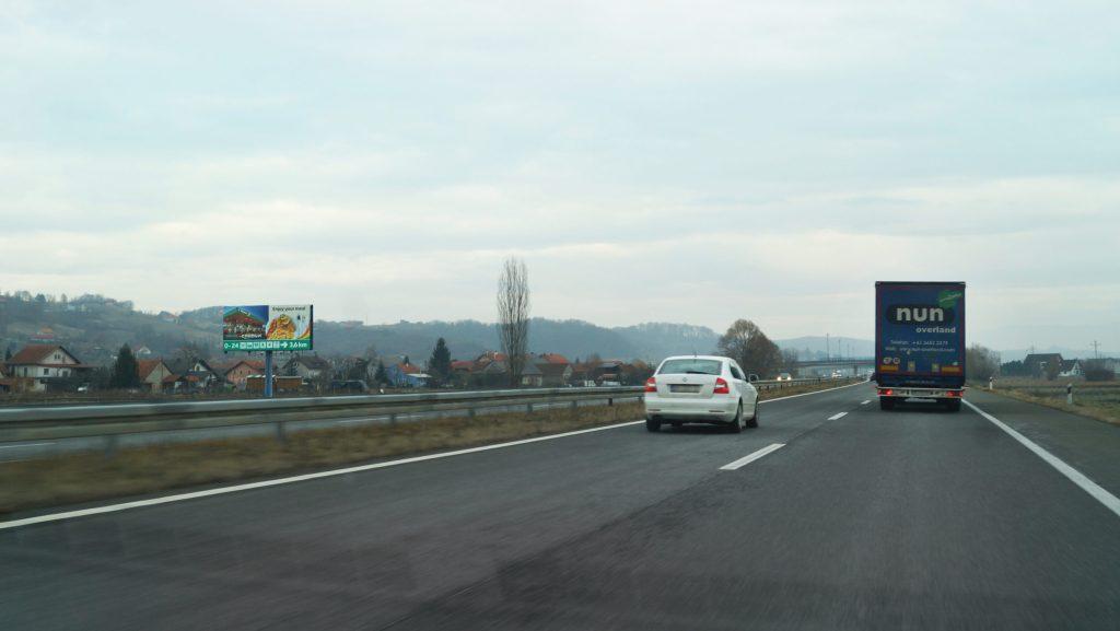 AUTOCESTA A2 ZAGREB – MACELJ, ŠVALJKOVEC – SMJER ZAGREB