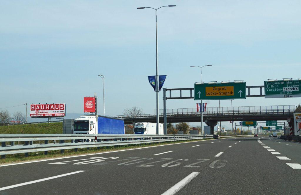 ZAGREB, AUTOCESTA A1 ZAGREB – SPLIT, LUČKO 1 – SMJER ZAGREB