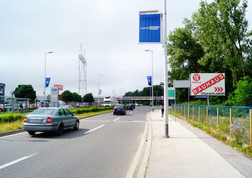 ZAGREB, ULICA LJUDEVITA POSAVSKOG (P) – SMJER SLAVONSKA AVENIJA