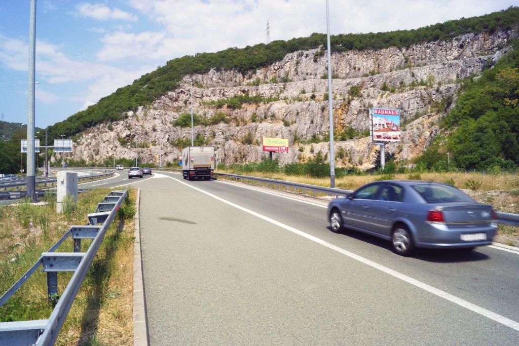 AUTOCESTA A6 ZAGREB – RIJEKA, OREHOVICA – IZLAZ IZ RIJEKE