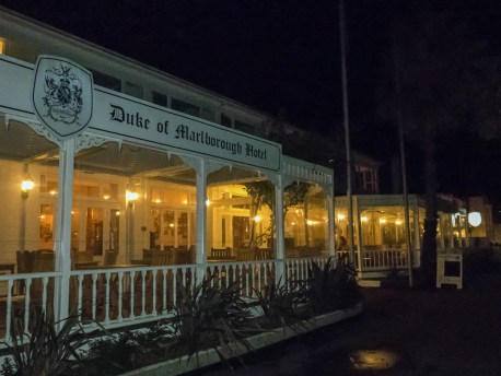 The Duke of Marlborough Hotel - historic hotel with awesome lively ambience and sumptuous dinners