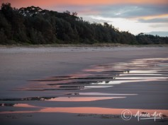 Shapes and colours of Narrawallee's spring tide-6