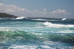Crisp wave at Collers - Bogey Hole