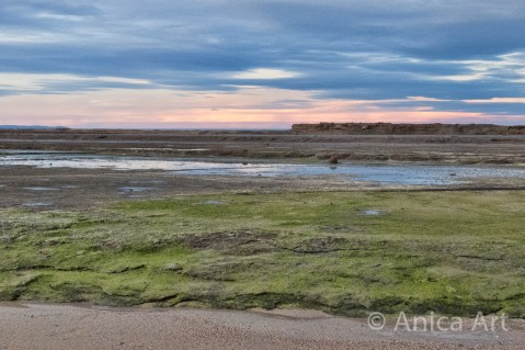 sunset-flat-rock-mollymook-beach