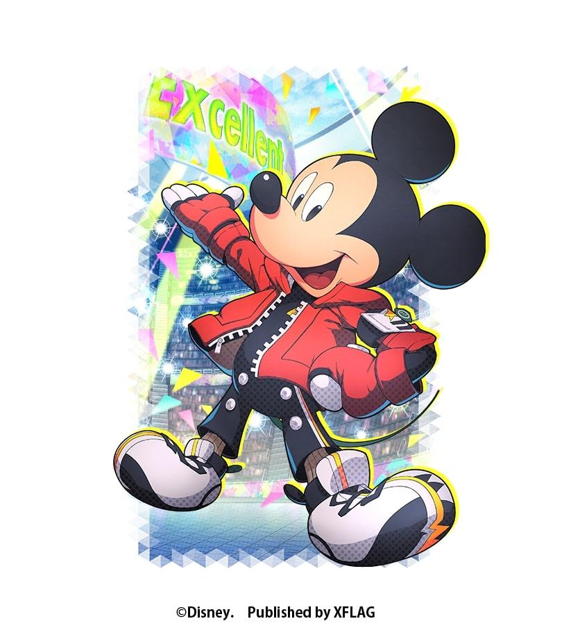 スタースマッシュ ★4 レッド・ブレイブス第5のメンバー ミッキーマウス