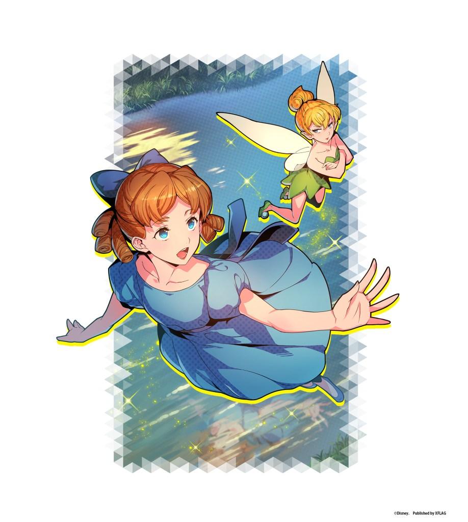 スタースマッシュ★4【妖精のあとを追って】ティンカー・ベル&ウェンディ