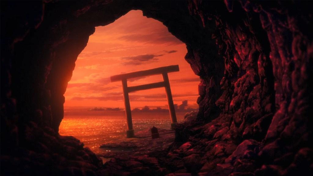 かいじゅう色の島