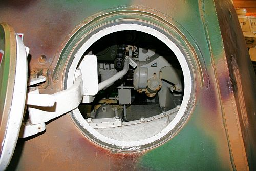 Dierks page  tank duel  the interior of a Panther