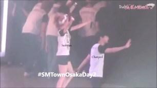Seohyun Donghae Siwon BONUS EXSEO Moment @ SMTOWN Osaka 2015.mp4_000156202