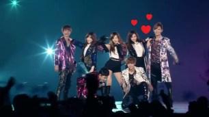 SNSD TTS & EXO - DJ got us fallin' in love @ smtown live 3 tokyo Oct 26, 2012 GIRLS' GENERATION HD - YouTube.MP4_000239506