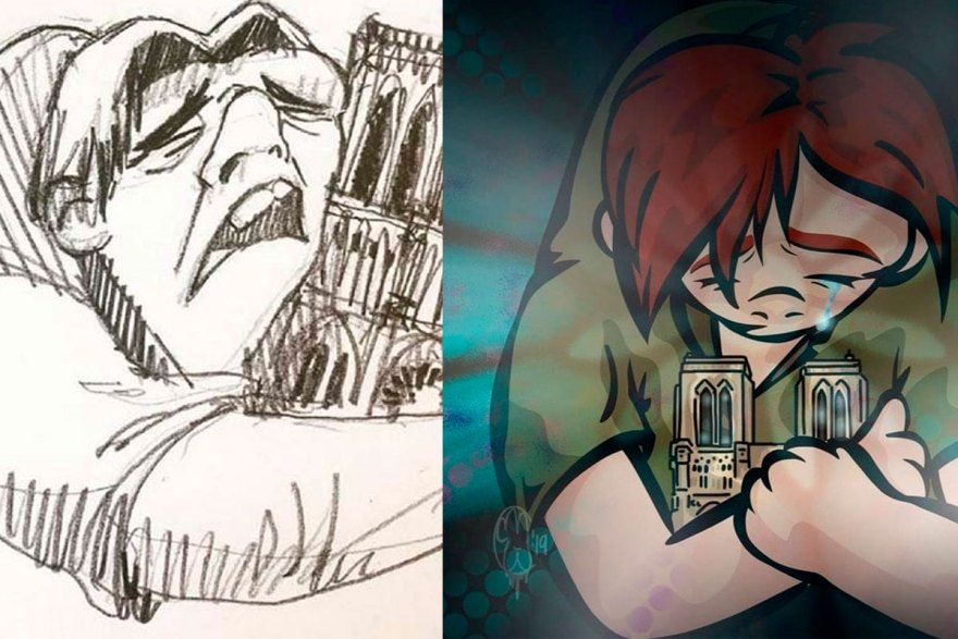 notre-dame-incendio-2019-homenaje-ilustradores-dibujos-anime.jpg