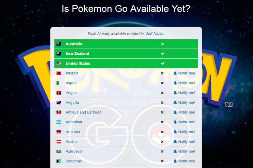 pokemon-go-disponibilidad