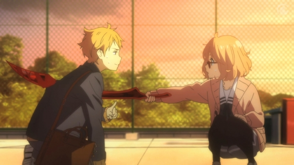 Friends Boy And Girl Wallpaper Review Beyond The Boundary The Double Edged Sword Of