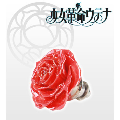 あみあみ新着!少女革命ウテナ 薔薇のブローチ・アンシー(赤) 新作グッズ予約情報