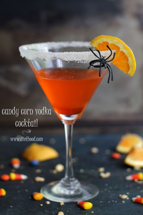 Candy Corn Vodka Cocktail Recipe A Night Owl Blog