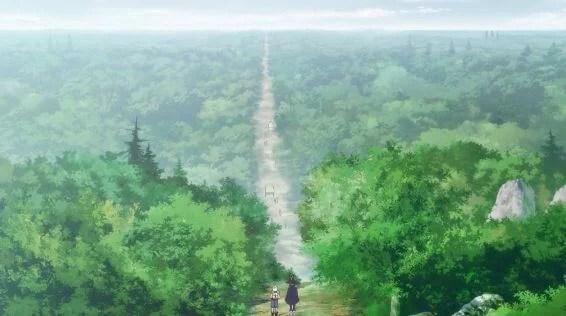 カスラーンマーリンへの道
