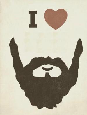adoro las barbas de unos días