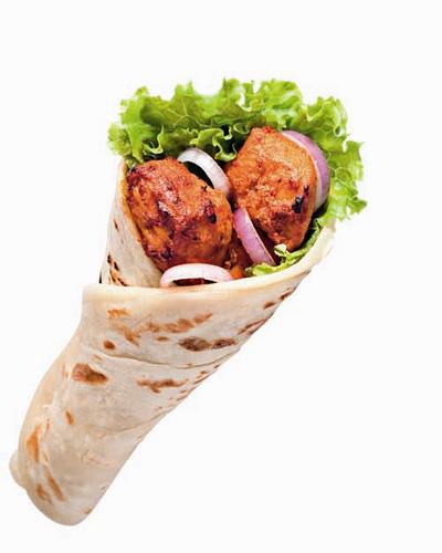 Chicken Tikka Roll
