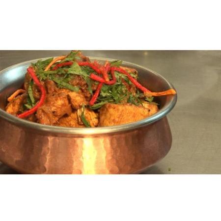 Chicken Vindaloo (very hot)