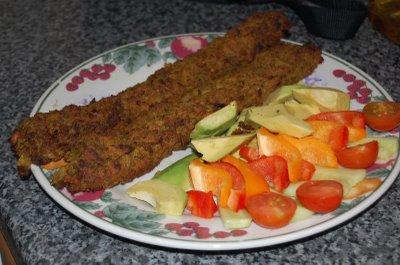 Seekh Kebab starter (2 pieces)