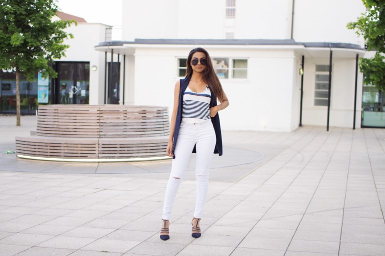 Stipe Top Outfit