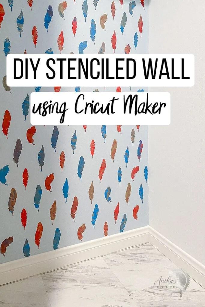 How To Create A Stencil On Cricut : create, stencil, cricut, Reusable, Stencil, Cricut, Maker, Anika's