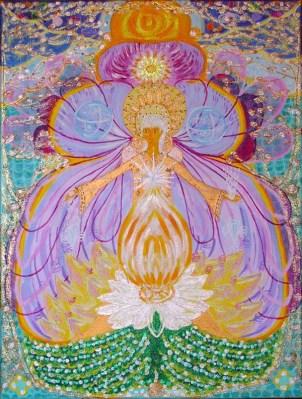 Wewnętrzny ogień, światło płynące od korzeni aż po korony drzew… nasi duchowi bracia i siostry…Anioł Aldony