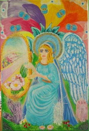 Anioł Przejścia- Przemiany Krystyny