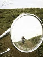 Objects in the mirror are closer than they appear :)