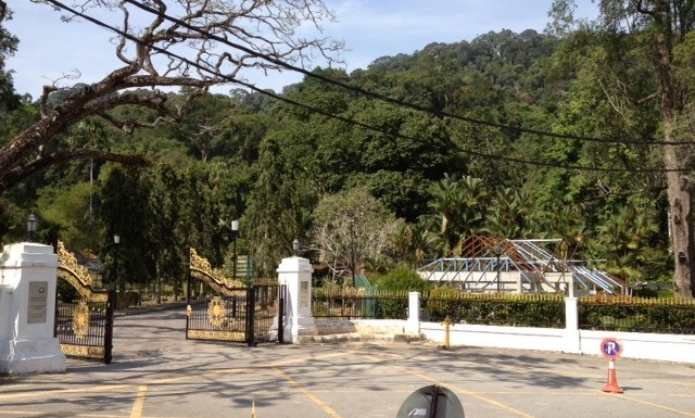 Structure at Penang Botanic Garden