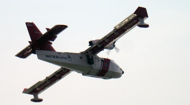 water-bomber