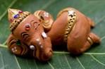 Sleeping Ganesha