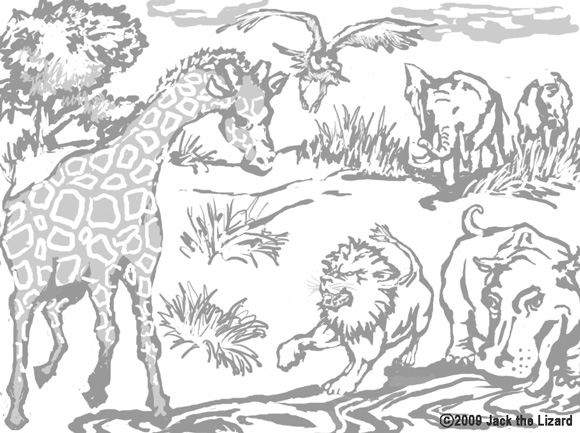 Challenging Coloring Pages