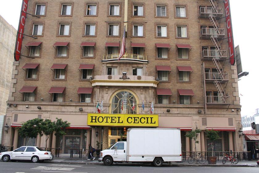 hotel cecil crime scene netflix elisa lam