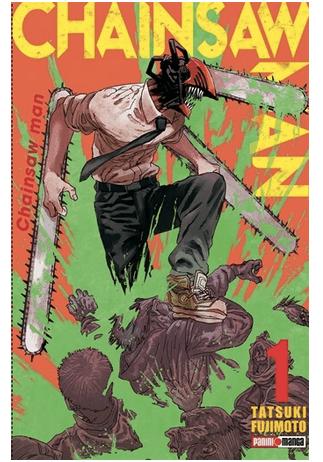 Chainsaw man, manga japonés que encuentras en la tienda Panini. Foto: tiendapanini.com.mx