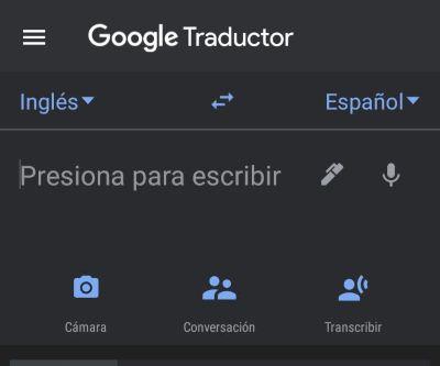 google trasnlate mobile