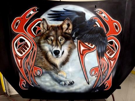 Detail Hood Art